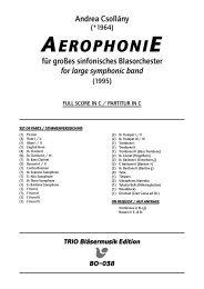 Aerophonie - Demopartitur (BO-038)