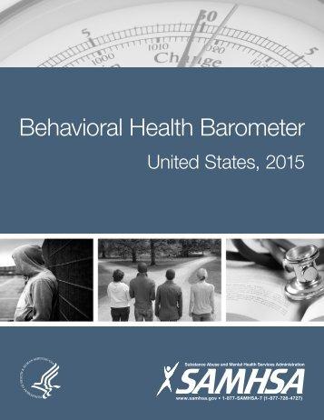 Behavioral Health Barometer