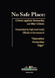 ":No Safe Place ""Operation Protective Edge"""