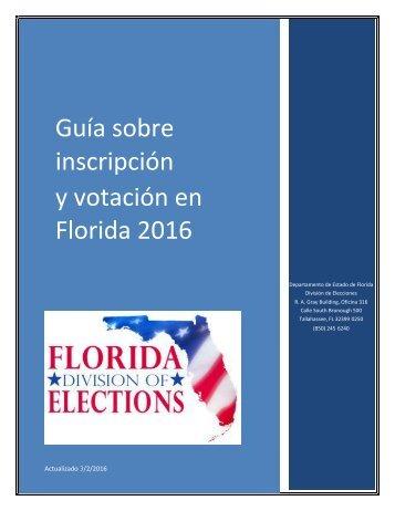 y votación en Florida 2016