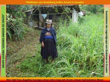 Sozialaktion der Jugendgrupe von G udalupe in Ecuador Pfadfinder ...