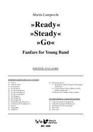 Ready - Steady - Go - Demopartitur (BO-086)