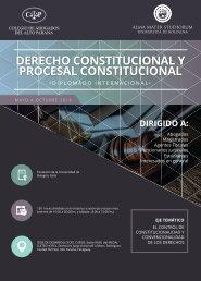 DERECHO CONSTITUCIONAL Y PROCESAL CONSTITUCIONAL