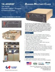 1X-45SR8F Quad AMD Opteron Rugged ... - Chassis Plans