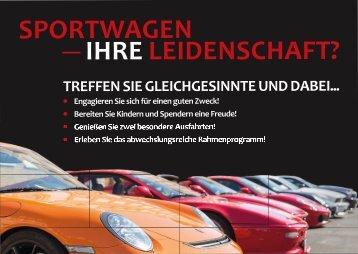Postkarte für Sportwagenfahrer