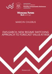 EWS-GARCH NEW REGIME SWITCHING APPROACH TO FORECAST VALUE-AT-RISK