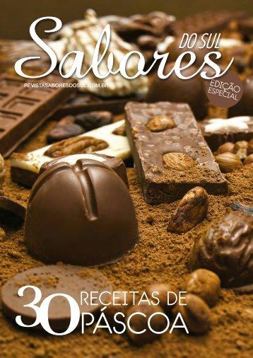 Revista Sabores do Sul - Edição Especial de Páscoa 2016