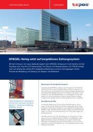 SPIEGEL-Verlag setzt auf bargeldloses Zahlungssystem
