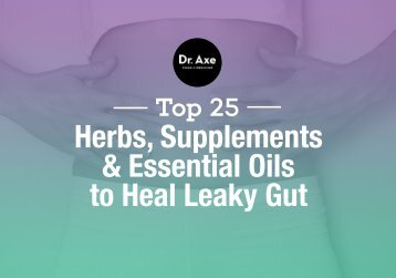 & Essential Oils to Heal Leaky Gut