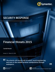 Financial threats 2015
