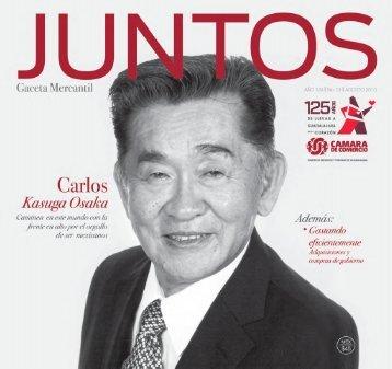 Juntos Gaceta Mercantil - AGOSTO 2013