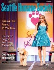 Seattle Humane Society - Chronicles Magazine, Summer 2012