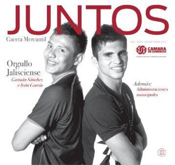 Juntos Gaceta Mercantil - SEPTIEMBRE 2012