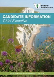 CANDIDATE INFORMATION Chief Executive