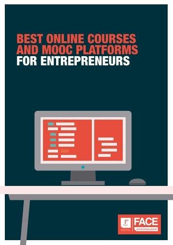 BEST ONLINE COURSES AND MOOC PLATFORMS FOR ENTREPRENEURS