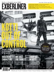 EXBERLINER Issue 148 April 2016