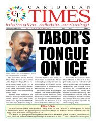 Caribbean Times 76th issue - Thursday 24th March 2016