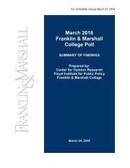 Fr Mar ranklin Col rch 20 n & M lege P 016 Marsh Poll all