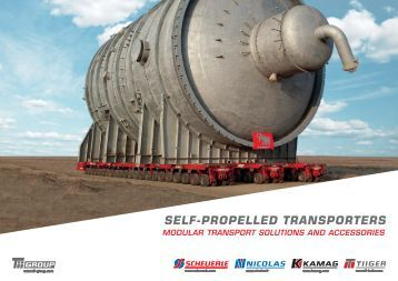 Self-Propelled Transporters