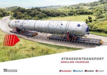 Strassentransport - Modulare Fahrzeuge