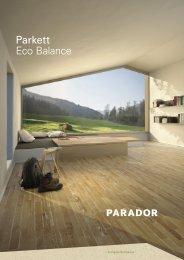 Parador Parkett Eco Balance 2016