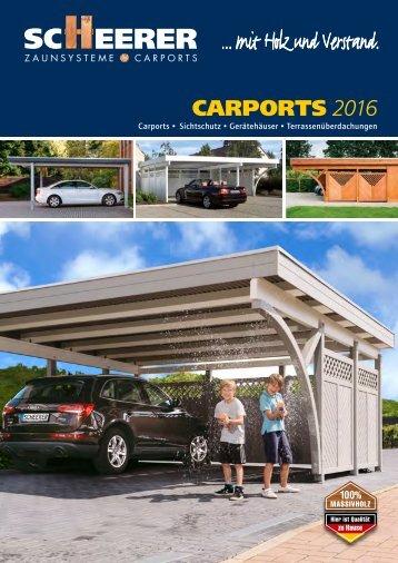 SCHEERER Carports 2016