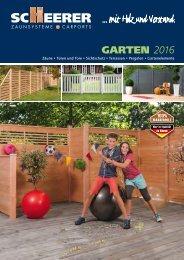 SCHEERER Garten 2016