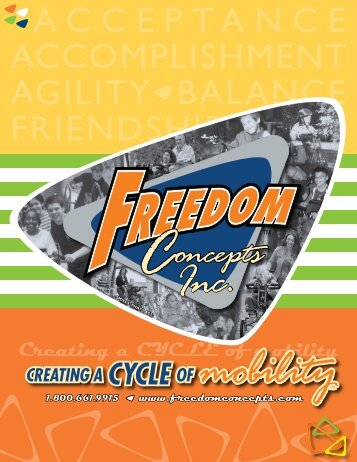 Freedom Concepts Catalogue