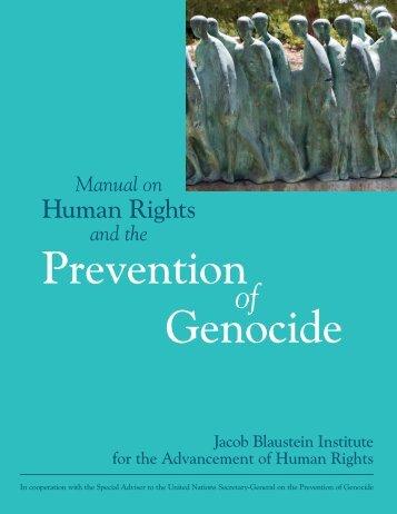 Prevention Genocide