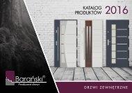 Barański Katalog drzwi zewnętrzne 2016