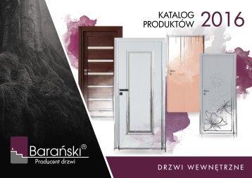 Barański Katalog drzwi wewnętrzne 2016