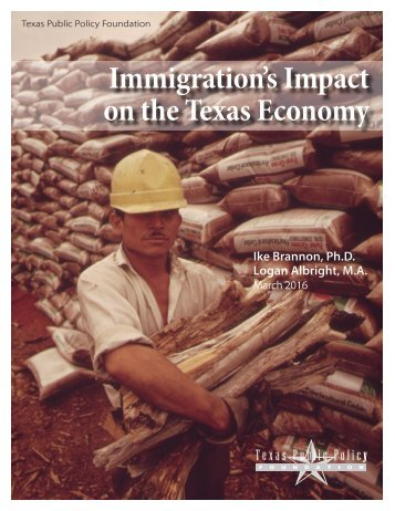 Immigration's Impact on the Texas Economy