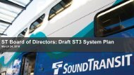 ST Board of Directors Draft ST3 System Plan