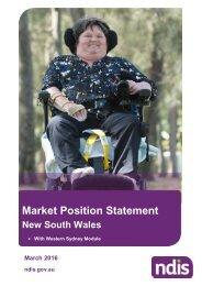 Market Position Statement