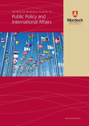 Public Policy and International Affairs