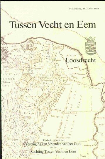 Tussen Vecht en Eem - 1988 - LOOSDRECHT