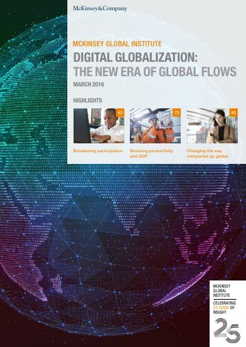 DIGITAL GLOBALIZATION THE NEW ERA OF GLOBAL FLOWS