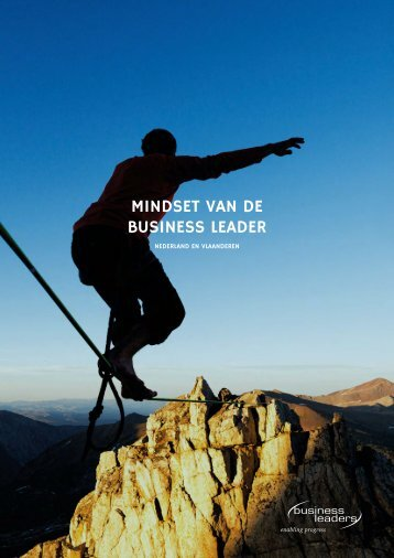 MINDSET VAN DE BUSINESS LEADER