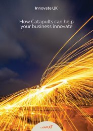 How Catapults can help your business innovate