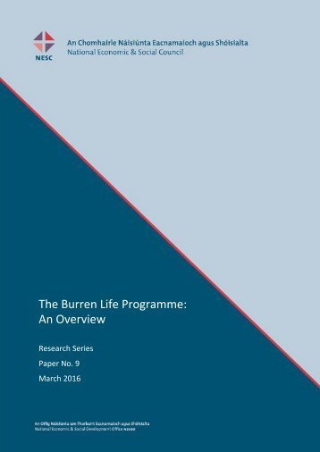 The Burren Life Programme An Overview