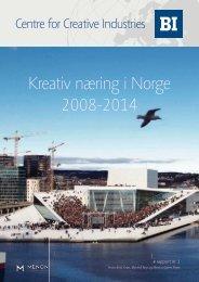 Kreativ næring i Norge 2008-2014