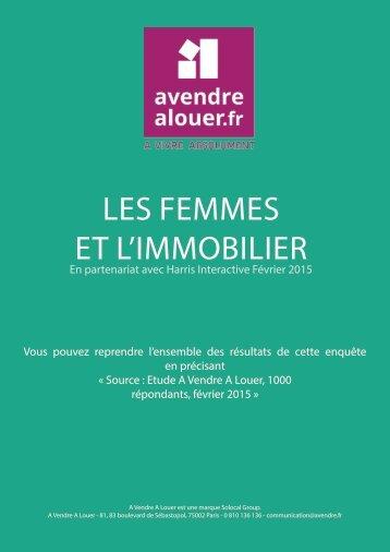 LES FEMMES ET L'IMMOBILIER