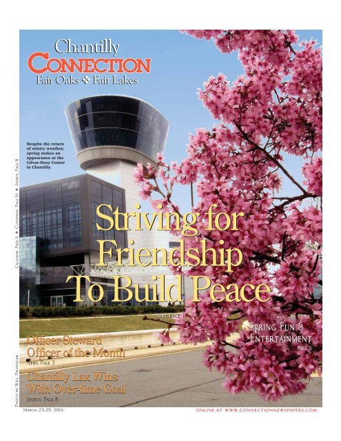Striving for Friendship To Build Peace