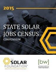 STATE SOLAR JOBS CENSUS