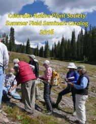 CoNPS-Summer-Field-Seminars-2016-Catalog.1