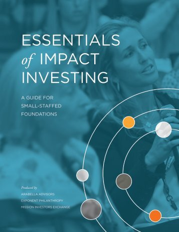 ESSENTIALS of IMPACT INVESTING