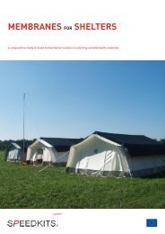 MEMBRANES SHELTERS