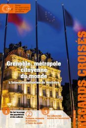 Grenoble métropole citoyenne du monde