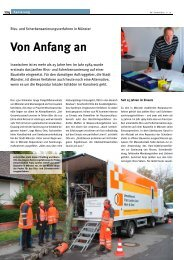 Von Anfang an - Umwelttechnik Franz Janßen GmbH