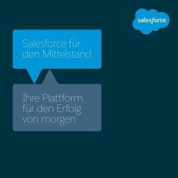 Salesforce für den Mittelstand Ihre Plattform für den Erfolg von morgen